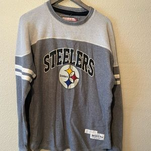Pittsburg Steelers NFL Henley Size 2XL
